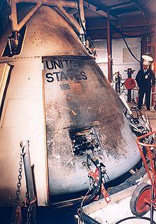 The Apollo 1 Capsule