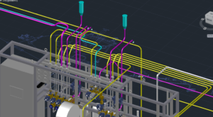 3D Piping into Supplier Model