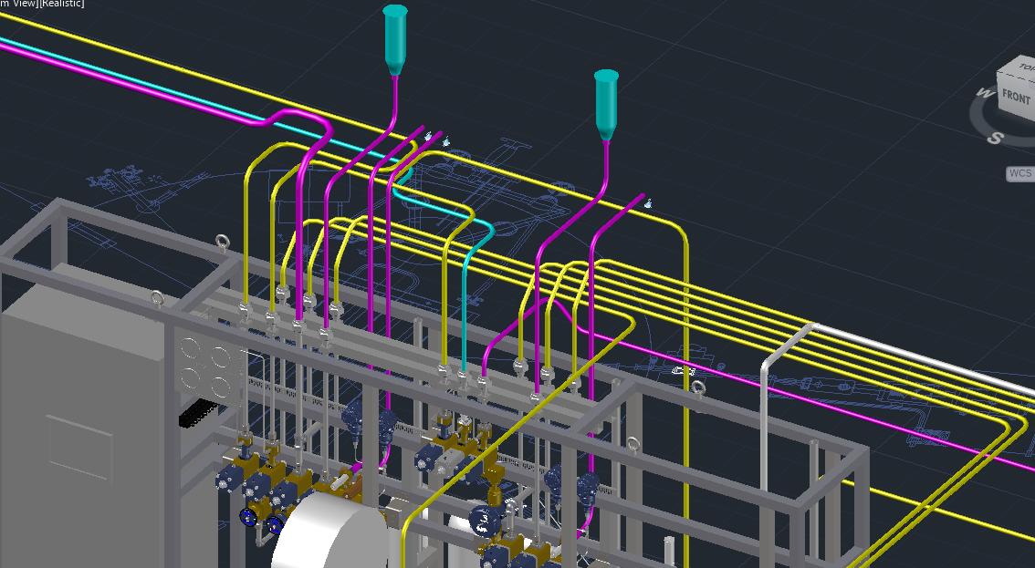Igas implement autocad plant 3d igas for Plante 3d dwg